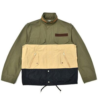 kolor BEACON(カラー ビーコン)コットンナイロンM-65フィールドジャケット