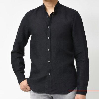 40代メンズに似合う黒シャツ