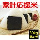 【送料無料】【白米】【家計応援米】30kg