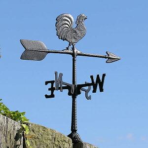 ◆【米国製】錆びないアルミ合金製◆軽量風見鶏【送料無料】風向,風向きを知るガーデン風見鶏ニ...