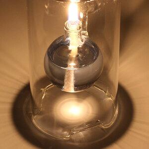 ガラスキャンドルフローティングボトル