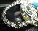 月の宝石 カットクリスタル (水晶) パワーストーン ブレスレット 天然石 ...