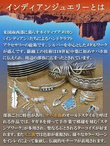 【インディアンジュエリー】ナバホ族・チップインレイターコイズシールドシルバーネックレス(チェーン付きペンダント)