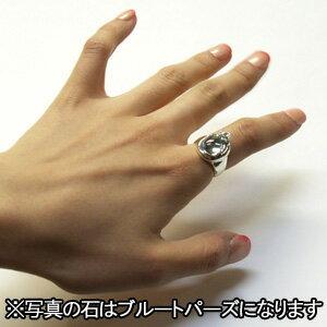 ☆送料無料☆石を抱く猫シルバーリング7~23号