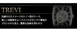 ★送料無料★【BAROQUE/バロック】ブラウン腕時計ブランドウォッチTREVIBA2001S-01br/時計/メンズ/腕時計/時計/アクセサリー/ファッション/本革/カジュアル/バロック/BAROQUE【_包装】