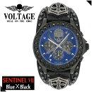 【送料無料】【VOLTAGE時計】センチネル7スカルクロスソードクロノグラフメンズ腕時計時計アクセサリーパンクロックファッションヴォルテージボルテージメンズナックルセンティネルSentinel【ギフトOK】