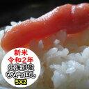 特売価格にてご提供! 北海道産ななつぼし 10kg (5Kgx2) 令和2年産 乾式無洗米 精米