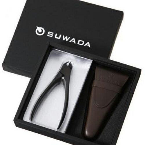 【メールマガジン希望ご選択で5%OFF!】 SUWADA スワダ つめ切り ギフトボックス CLASSIC 黒仕上げ(L) 革ケース付き (ギフト箱入りセット)