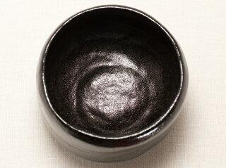 長次郎「カセ釉」写し 黒楽 抹茶碗