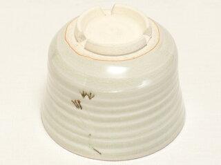 青磁立鶴 抹茶碗