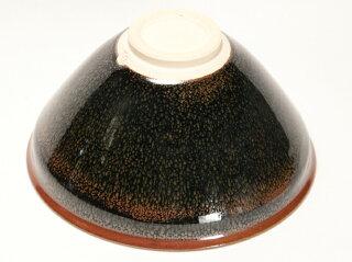 流星油滴天目 抹茶碗