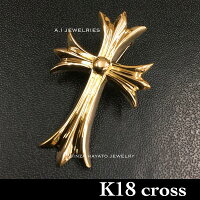 K1818金大きめクロスペンダントメンズレディース十字架新品crosspendantmensladiessimple