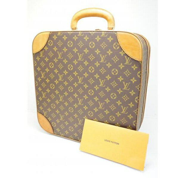 バッグ, スーツケース・キャリーバッグ 5,000off Used LOUIS VUITTON VINTAGE MONOGRAM BOITES CHAPEAUX CARREES 40 HAT CASE No.35 180669 GINZA-JAPAN LV