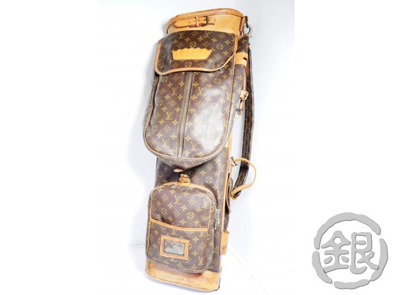 男女兼用バッグ, その他 5,000off Used LOUIS VUITTON VINTAGE MONOGRAM SAC GOLF CLUB BAG CASE No. 87 GINZA-JAPAN LV
