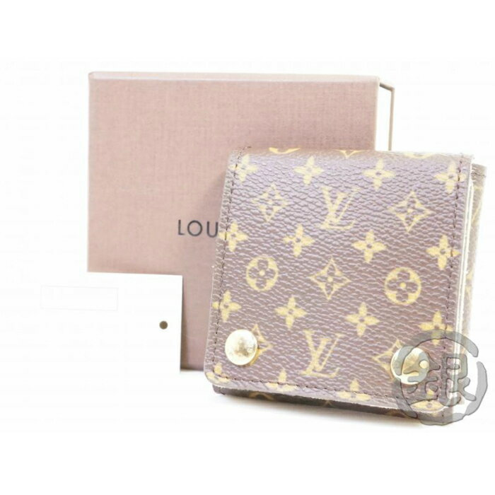レディースバッグ, アクセサリーポーチ 5,000off AUTHENTIC PRE-OWNED LOUIS VUITTON MONOGRAM PORTABLE JEWELRY HOLDER CASE LIMITED GOODS GINZA-JAPAN