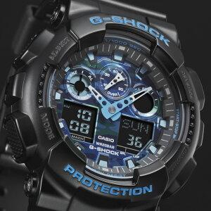 【ポイント10倍】G-SHOCKジーショックカモフラージュダイヤルシリーズGA-100CB-1AJF腕時計メンズ送料無料