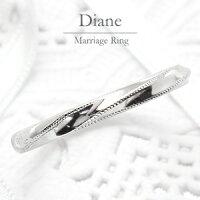 結婚指輪マリッジリングプラチナPt900【3号〜20.5号】ペアリング【刻印&誕生石無料】甲丸リング銀座リム『Diane』ブライダルメンズ指輪【楽ギフ_包装】【楽ギフ_名入れ】