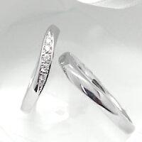 結婚指輪マリッジリング『ハードプラチナ900』ペアリング2号~20.5号【刻印&誕生石無料】【送料無料】/銀座リム『Paula』【レディス】