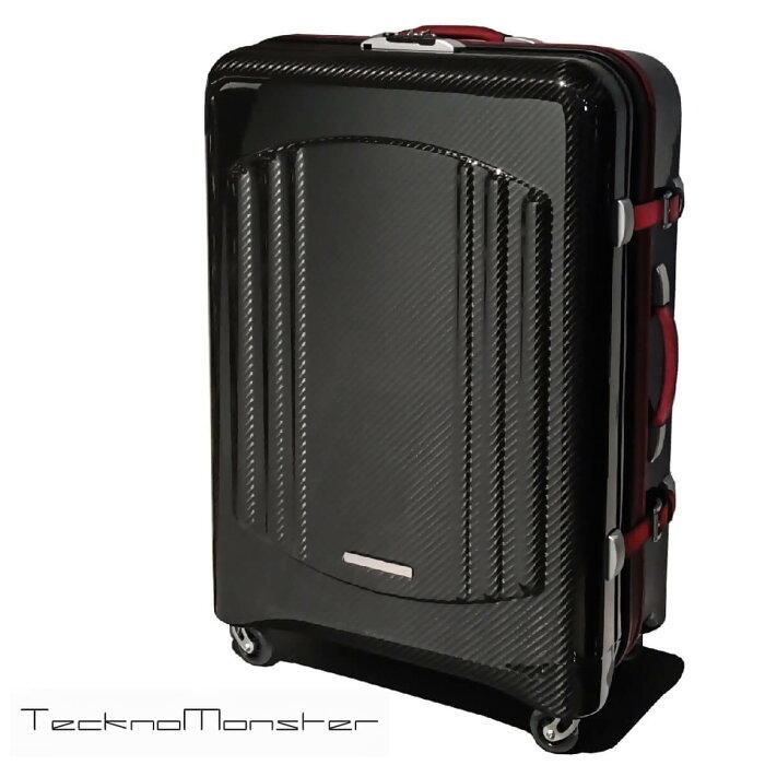 Teckno Monster (テクノモンスター)スーツケース ブランド メンズ レディース ソフトカーボンファイバー イタリア製 高級 ラグジュアリー