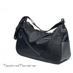 TecknoMonseter(テクノモンスター)【オンラインストア限定販売】ブラックカーペットシリーズショルダーバックおしゃれカーボンファイバー