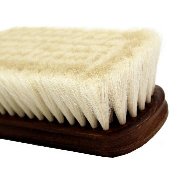 【送料無料】靴磨き山羊毛ブラシM.MOWBRAYモウブレイ紗乃織刷子(さのはたぶらし)【手植え】山羊毛ブラシMadainJapan