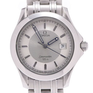 OMEGA オメガ シーマスター 120 2511.31 メンズ SS 腕時計 クオーツ シルバー文字盤 Aランク 中古 銀蔵