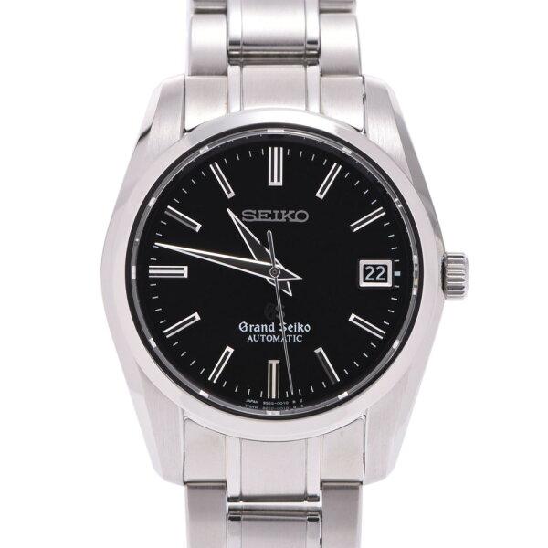 SEIKOセイコーグランドセイコーSBGR023ボーイズSS腕時計自動巻き黒文字盤Aランク中古銀蔵