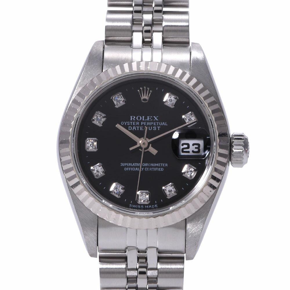 腕時計, レディース腕時計 ROLEX 10P 69174G WGSS A