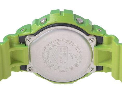 カシオ・CASIOG-SHOCKDW-6900NBメタリックカラーズ緑ラバークオーツ【】◇