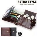 二つ折り財布 メンズ財布 財布 メンズ 二つ折り 紳士用財布 ウォレット プレゼント シンプル 多機能 小銭入れ レザー大容量 カード人気 男性用 2つ折