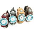 【送料無料】本格ハンドメイド手縫いリストウォッチ レディースサイズ 本革腕時計ysw1【RCP】【20P05Nov16】