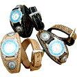 【送料無料】本格ハンドメイド手縫いリストウォッチ ダブルスタイル本革腕時計ysw4【RCP】【20P05Nov16】