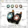 【送料無料】リアルストーン・SILVER925 コンチョ付き レザーブレスレット時計 ブラック【RCP】【20P05Nov16】