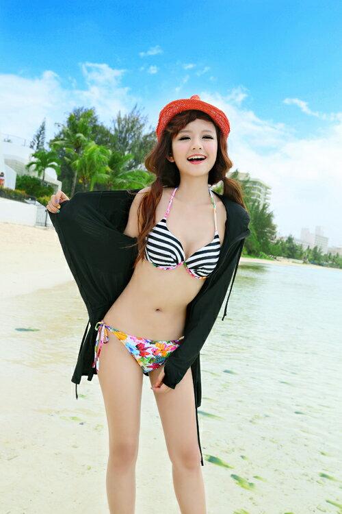 ビックサイズロングラッシューガード夏海プールリゾート大人かわいいシンプル水着