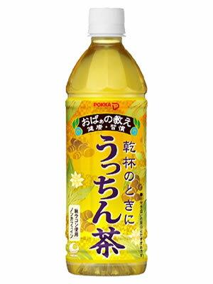 送料無料! 【沖縄ポッカ】 うっちん茶 (うこん茶) 500ml ×48本