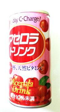 アセロラドリンク 果汁10% 190ml ×30缶