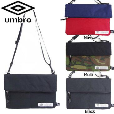 サコッシュ アンブロ ショルダーバッグ メンズ UMBRO 70196 斜めがけ 軽量 鞄 おしゃれ シンプル 郵 メール便 送料無料