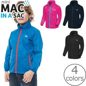 防水 ジャケット キッズ ウインドブレーカー mini MAC IN A SAC 男の子 女の子 4color 8-10才 レインウエア MIASORKI MIAS mini Kids Origin Jacket 子供 北欧 アイルランド 送料無料