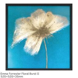アートパネル 北欧 おしゃれ 壁掛け アートポスター BEmma Forrester Floral Burst アートフレーム IEF-61658 エマ フォレスター キャンバスアート インテリア パネル 絵画 キャンパス ポスター フレーム 雑貨 玄関 家具 プレゼント 送料無料