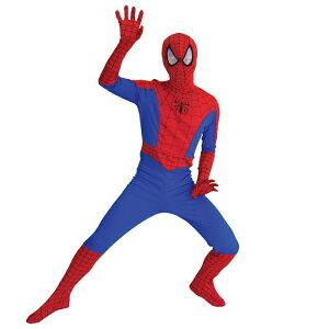 仮装/衣装 大人/ハロウイーン/HALLOWEEN【大人用コスチューム】スパイダーマン・spiderman80294...