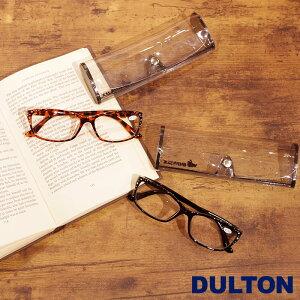 メール便 老眼鏡 おしゃれ レディース メンズ シニアグラス 女性 リーディンググラス DULTON ダルトン READING GLASSES 眼鏡 デミ/ブラック YGF74 メガネケース付き 老眼 1.0 1.5 2.0 2.5 ギフト プレゼント 敬老の日 父の日 母の日