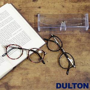 メール便 老眼鏡 おしゃれ レディース メンズ シニアグラス 女性 リーディンググラス DULTON ダルトン READING GLASSES 眼鏡 レッド/ブラック YGJ112 メガネケース付き 老眼 1.0 1.5 2.0 2.5 ギフト プレゼント 敬老の日 父の日 母の日