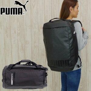 PUMA プーマ ボストンバッグ 2WAY リュック 大容量 ダッフルバッグ エナジー メンズ/レディース ブラック 40L 075763 リュックサック デイパック スポーツバッグ バッグ おしゃれ ブランド トレー