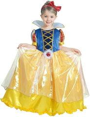 送料無料 ハロウィン 衣装 子供 女の子 ディズニー コスチューム デラックス 白雪姫 DX Snow White 802062 デイズニーランドに ハロウィンコスチューム/衣装/ハロウイーン/HALLOWEEN【あす楽】