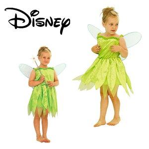 着後レビューで 送料無料 ハロウィン 衣装 子供 ディズニー 女の子 tinker bell ティンカー ベ...