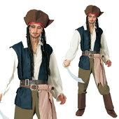 コスチューム大人用海賊ジャック・スパロウ
