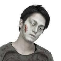 ハロウィングッズ仮装コスプレゾンビメイク傷シリーズ刺激ホラー顔ボディに接着剤付きハロウインパーティーイベントハロウィーン