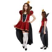 ハロウィンコスチューム衣装女性仮装Theクイーンレディース衣装/ハロウイーン/HALLOWEEN