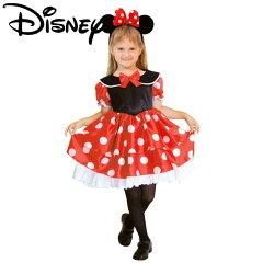 着後レビューで 送料無料 ハロウィン 衣装 子供 ディズニー ミニー ミニーマウス Minnie デイズ...