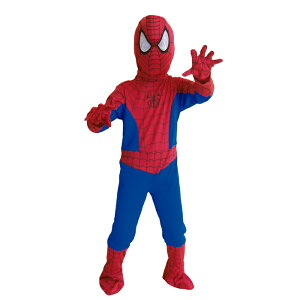 【ハロウィン子供用コスチューム】スパイダーマン! Spiderman イベント・コスプレ・ハロウィン・衣装・学園祭・文化祭・結婚式二次会・宴会に